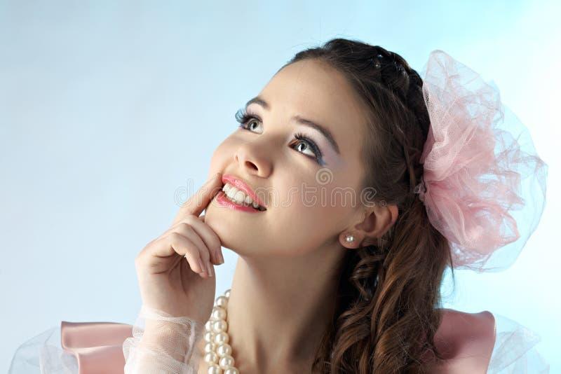 женщина красотки стоковое изображение rf