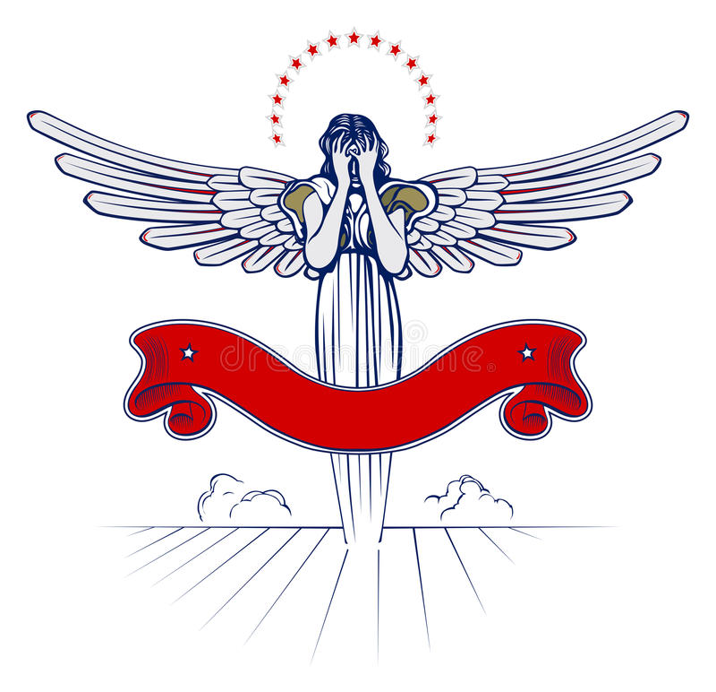 женщина крыла ангела бесплатная иллюстрация