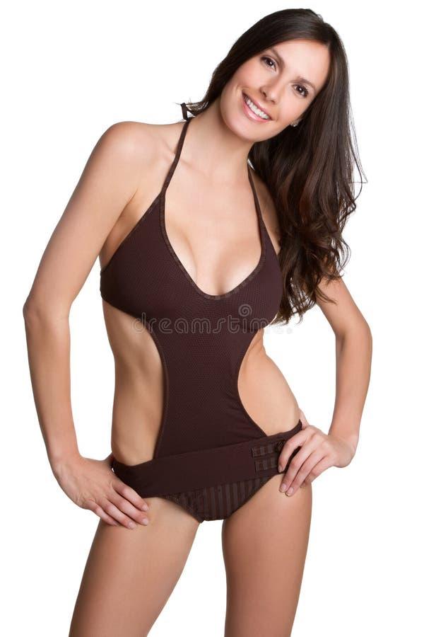 женщина купального костюма стоковая фотография