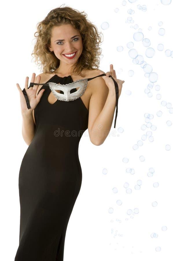 женщина маски ся стоковые изображения