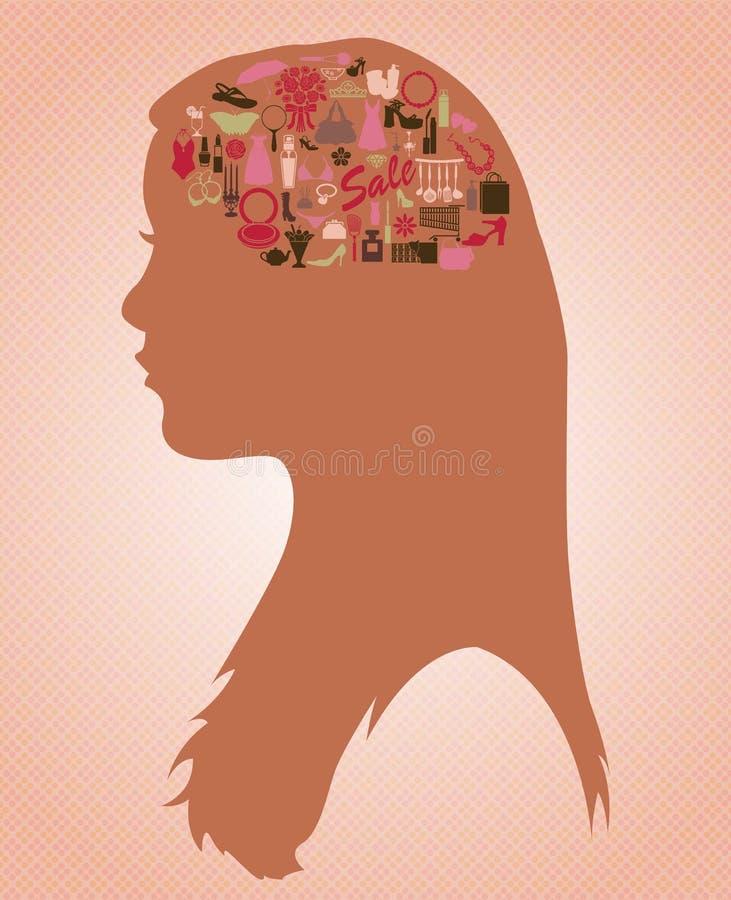 Картинки что у женщины в голове