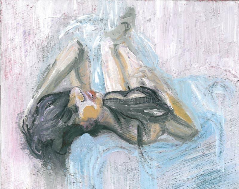 Женщина на кресле стоковое фото rf