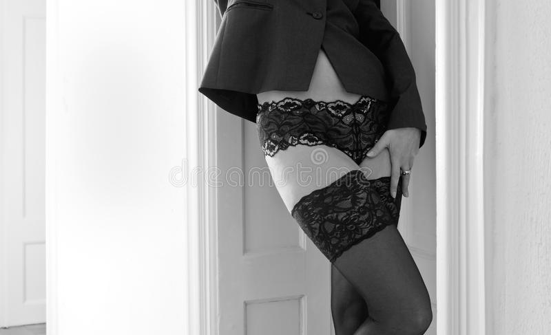 женщина нижнего белья стоковое фото