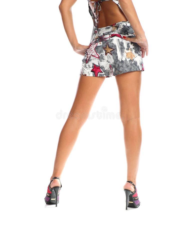 женщина ног длинняя милая стоковые изображения