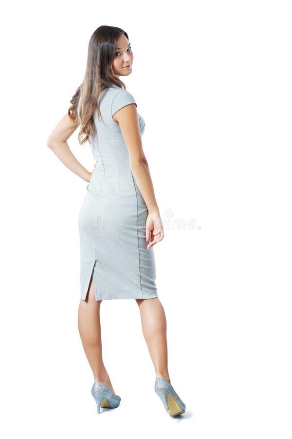 Женщина от задней части стоковое изображение
