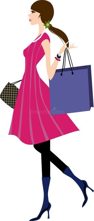 женщина охмеления иллюстрация штока