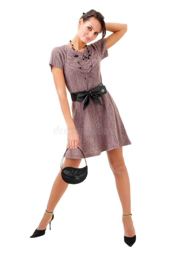 женщина портмона стоковое фото