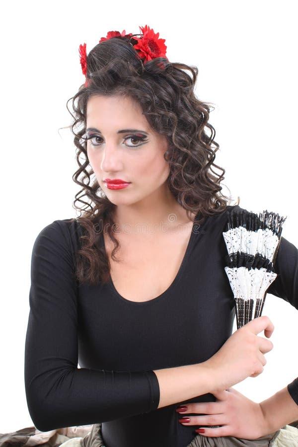 женщина портрета вентилятора стоковое изображение rf