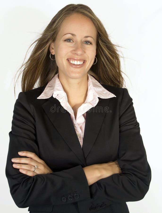 Download женщина портрета дела стоковое изображение. изображение насчитывающей волосы - 1194553