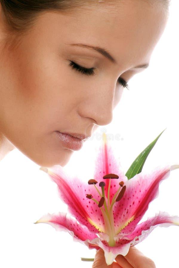 женщина портрета красотки стоковое изображение rf
