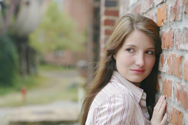 женщина портрета милая стоковое фото rf