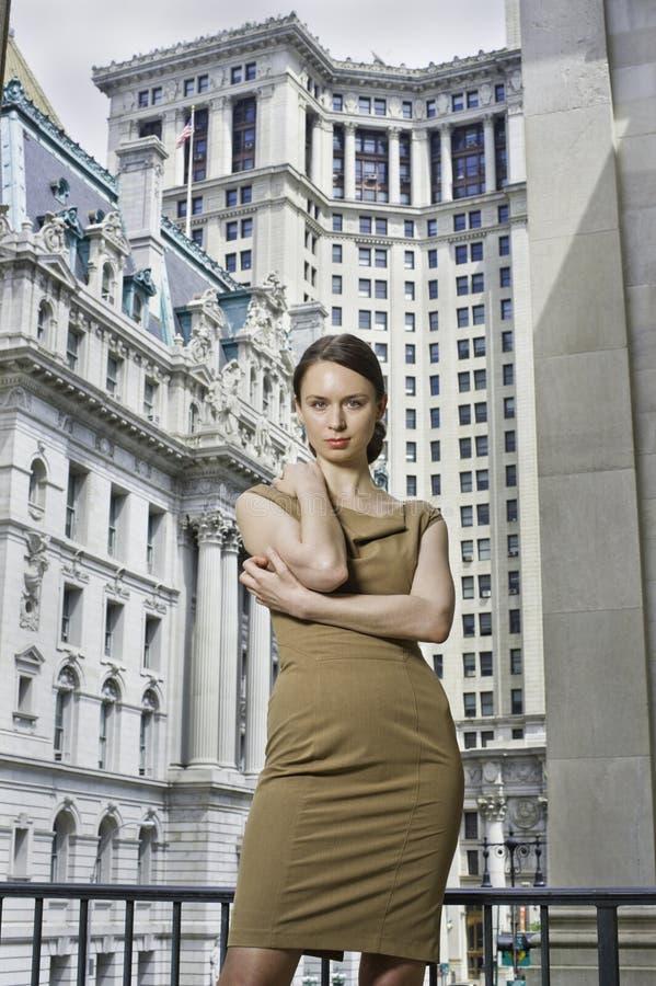 женщина портрета профессиональная стоковое фото