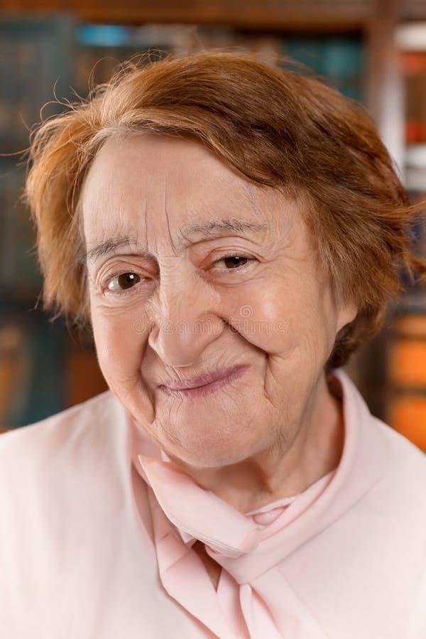 женщина портрета старшая ся стоковая фотография rf