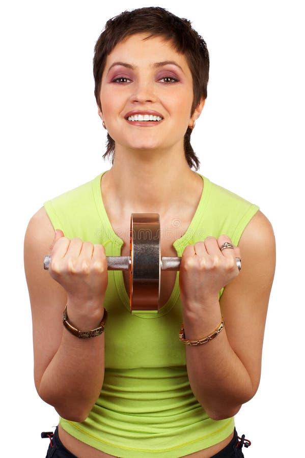 женщина пригодности стоковое изображение