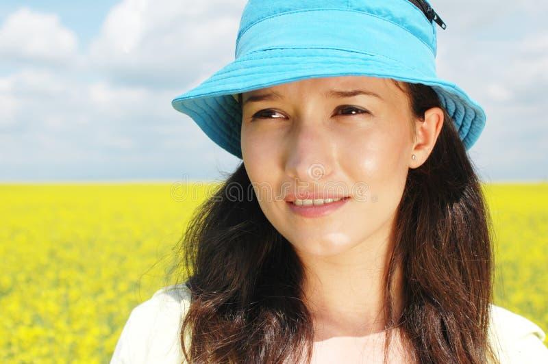 женщина природы стоковое фото rf