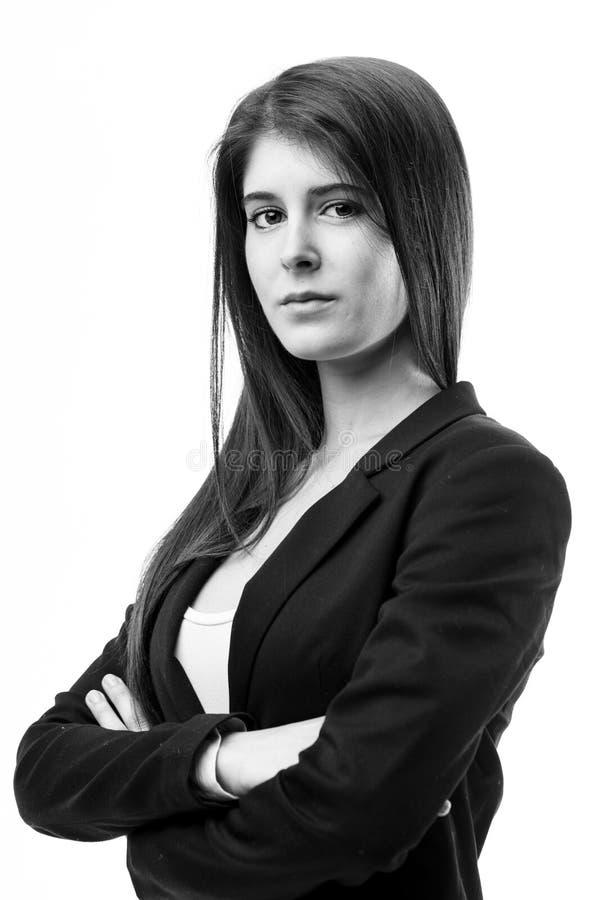 Женщина работодатель или работник стоковая фотография rf