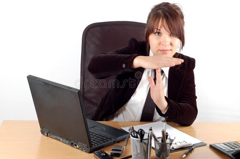 женщина стола 19 дел стоковая фотография rf