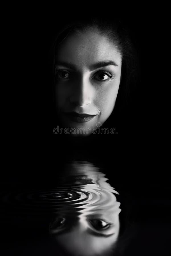 женщина стороны сь стоковые изображения rf