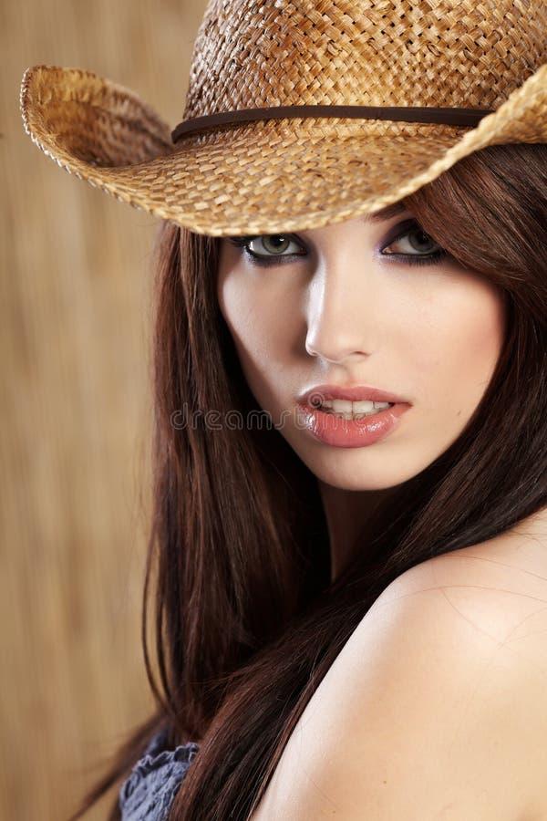 женщина страны стоковые фото