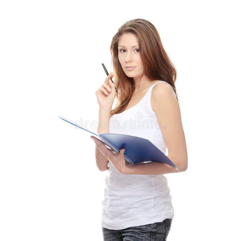 женщина студента стоковое фото