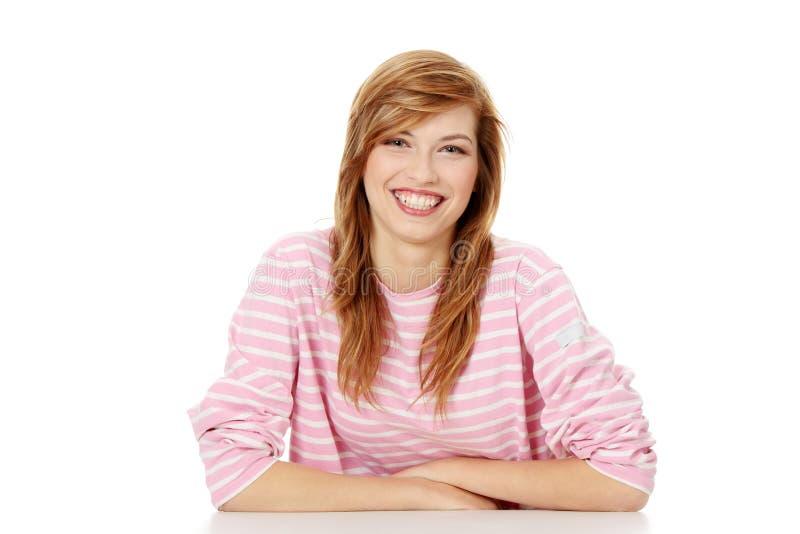 женщина студента стоковое изображение rf