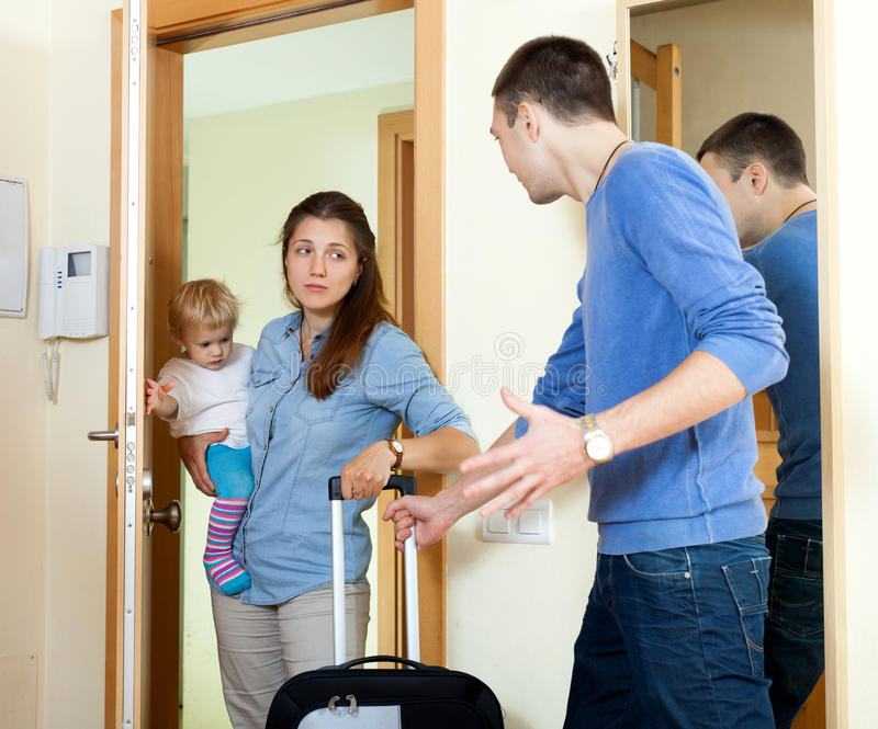 Женщина с ребенком стоковые изображения rf