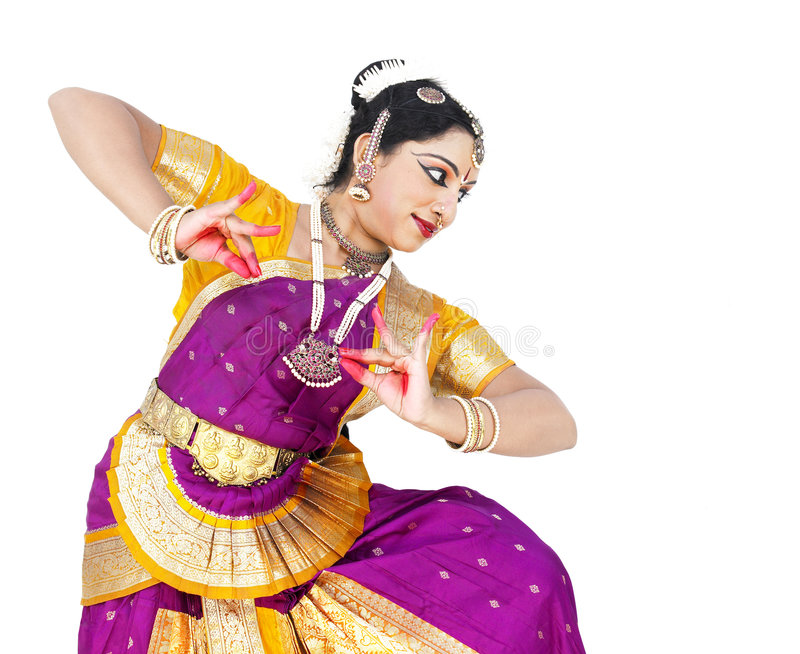 женщина танцора Азии классическая стоковая фотография rf