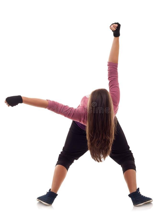 женщина танцора стоковое изображение