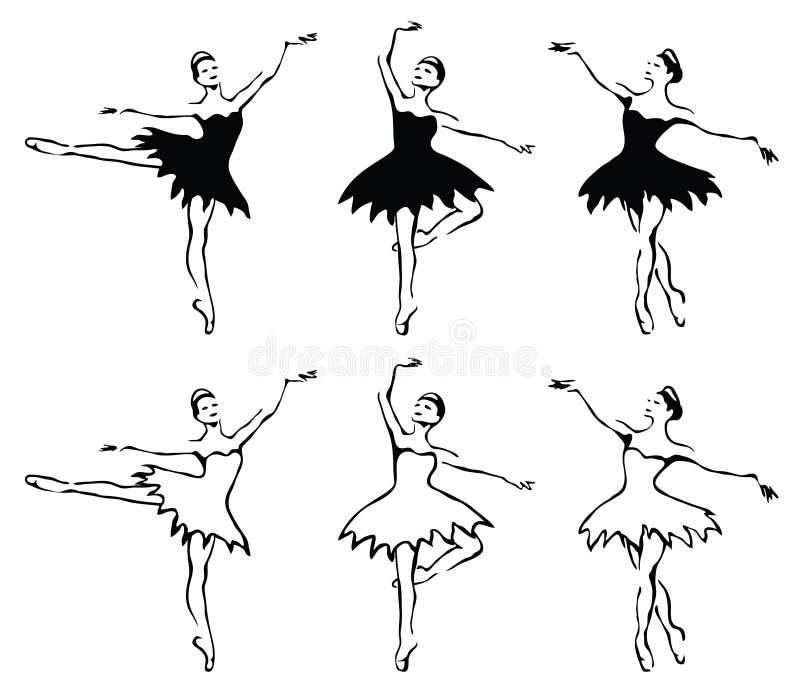 женщина танцоров балета бесплатная иллюстрация