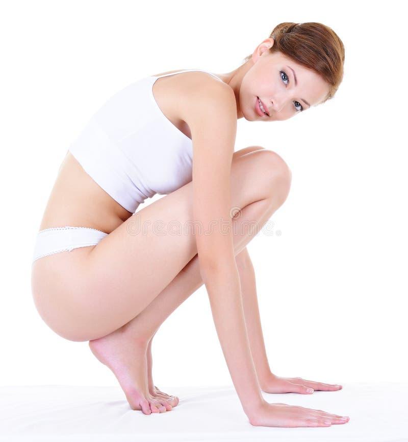 женщина тела здоровая совершенная стоковые фото