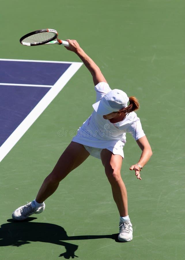 женщина тенниса стоковые изображения