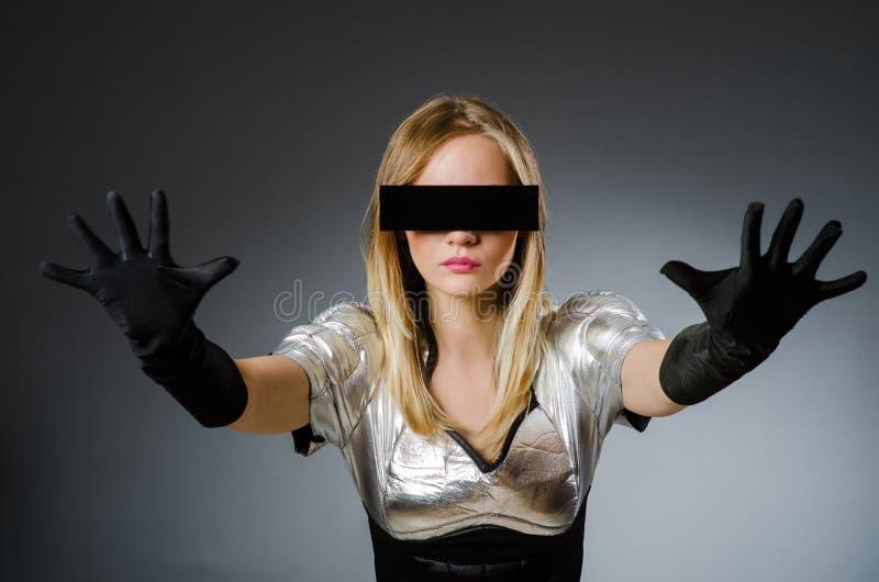 Женщина техника стоковые фотографии rf