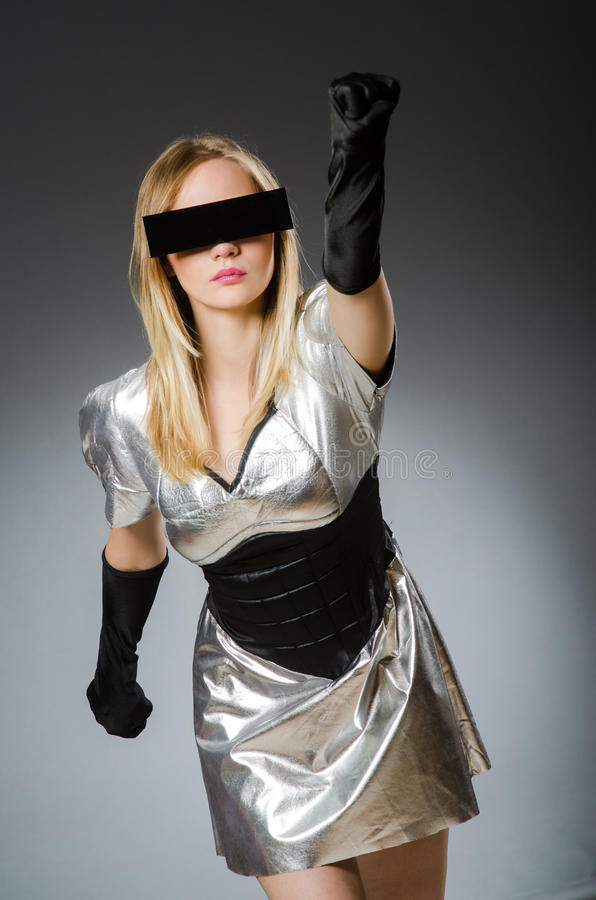 Женщина техника стоковое фото