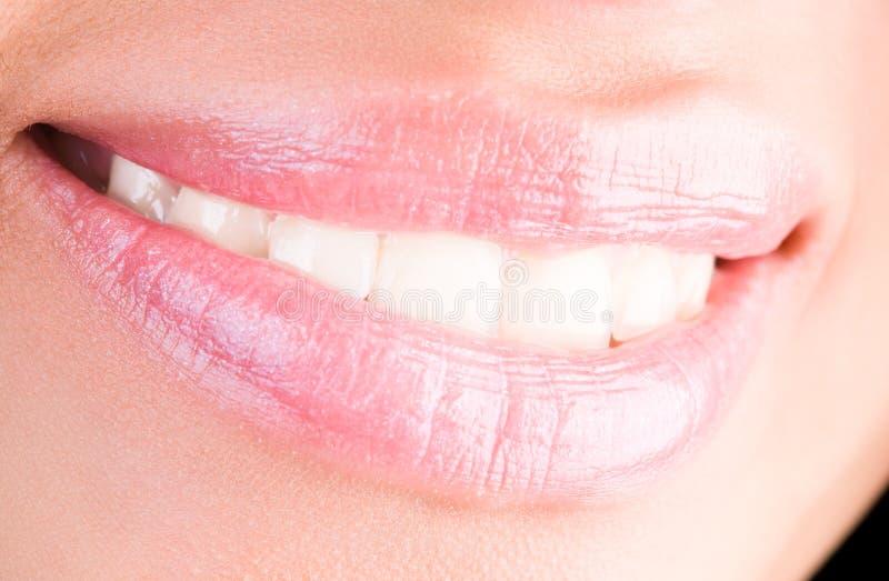 женщина усмешки стоковое изображение rf