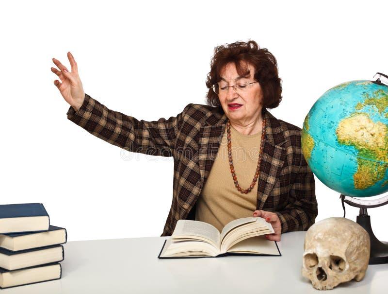женщина учителя стоковая фотография