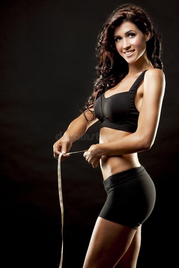Женщина фитнеса стоковое фото