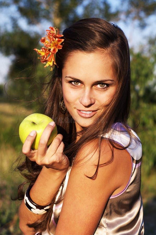 волосы картинки с яблоками