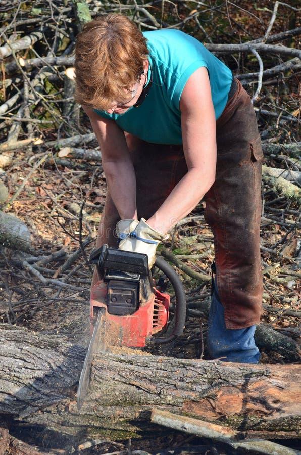 женщина швырка вырезывания стоковое изображение rf