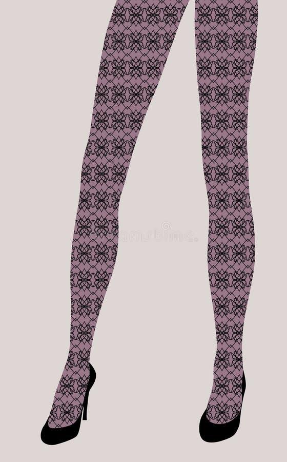 женщина шикарных ног сексуальная бесплатная иллюстрация