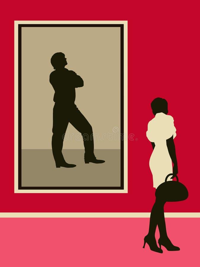 женщина штольни стоковые фото