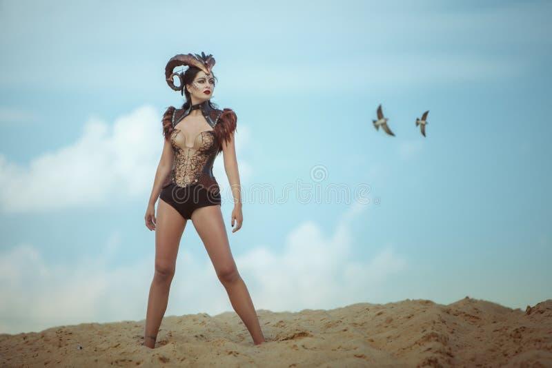 Женщина штоссель стоковое изображение