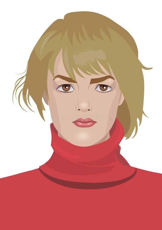 Download Женщина иллюстрация штока. иллюстрации насчитывающей самомоднейше - 37927449
