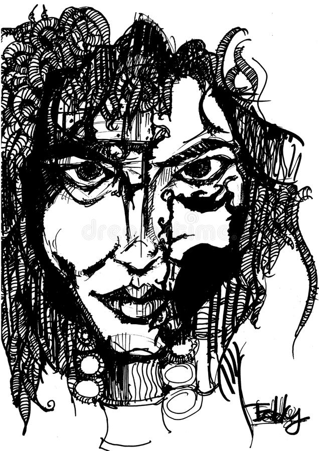 Женщина иллюстрация штока
