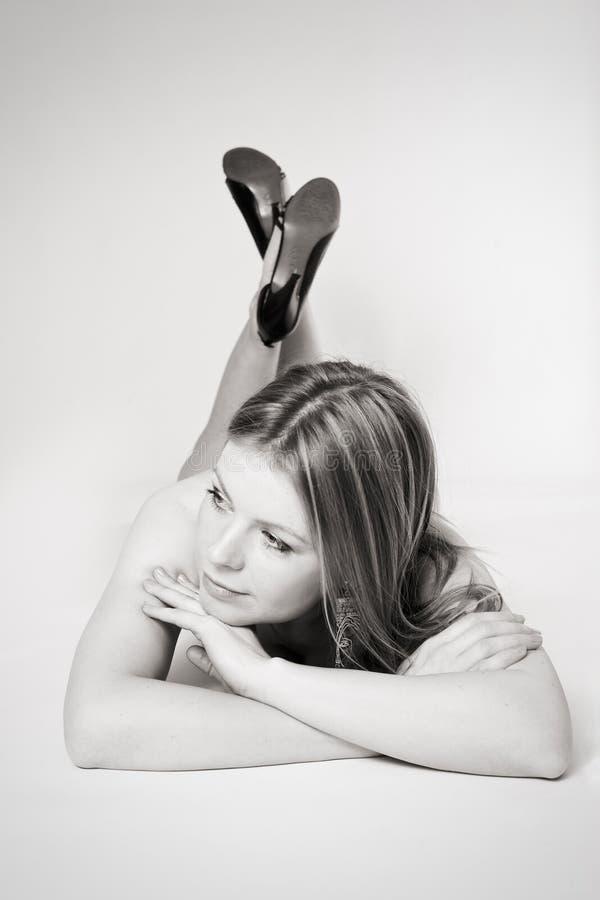 женщина beautifull стоковая фотография rf