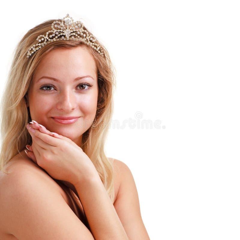женщина diadem стоковые изображения