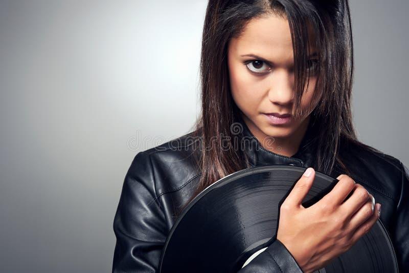 Download Женщина DJ стоковое фото. изображение насчитывающей партия - 40580138