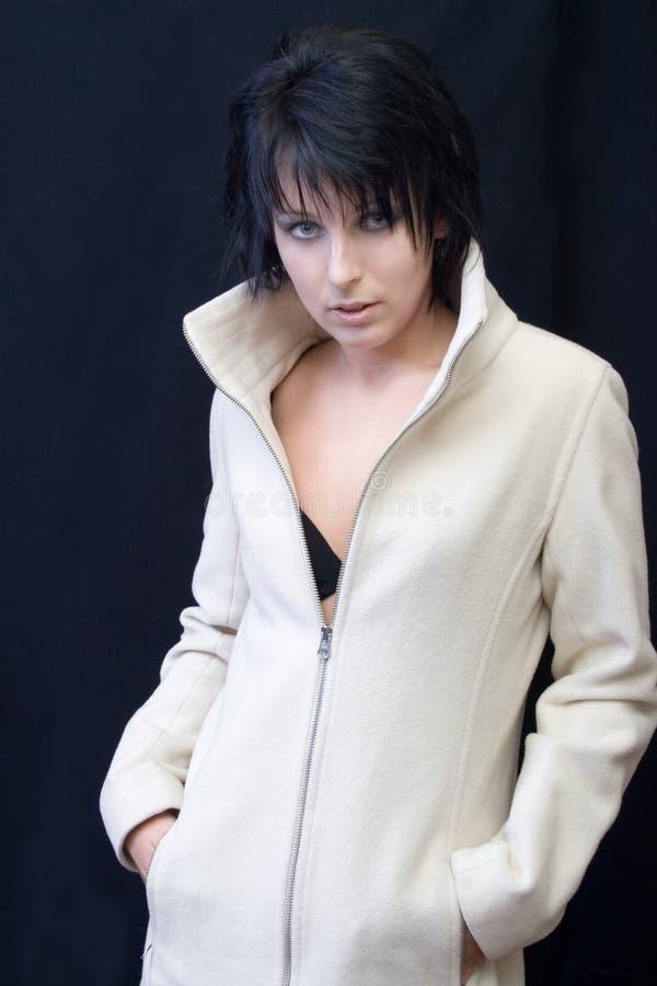 женщина goth сексуальная стоковое фото