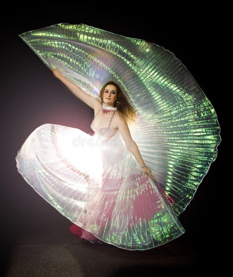 женщина oriental танцора стоковая фотография