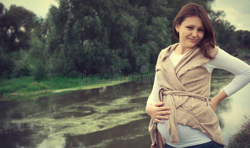 женщина pregnaut стоковое изображение