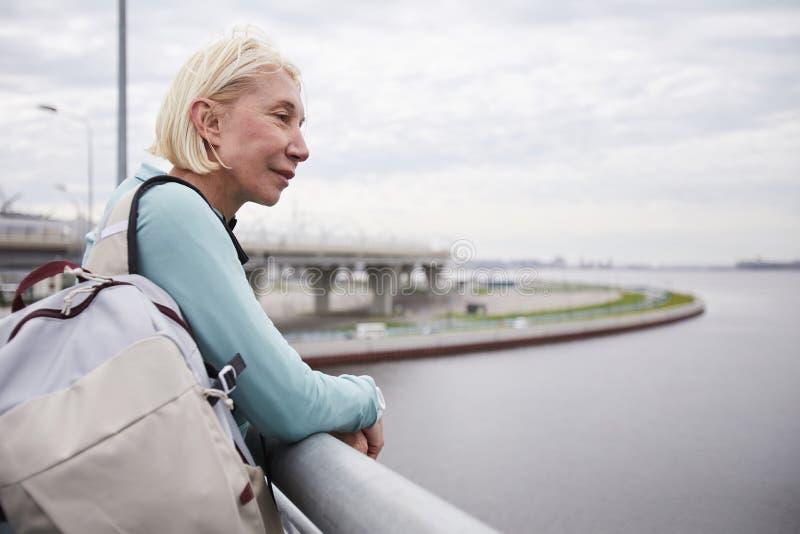 Женщина riverside4 стоковые фото